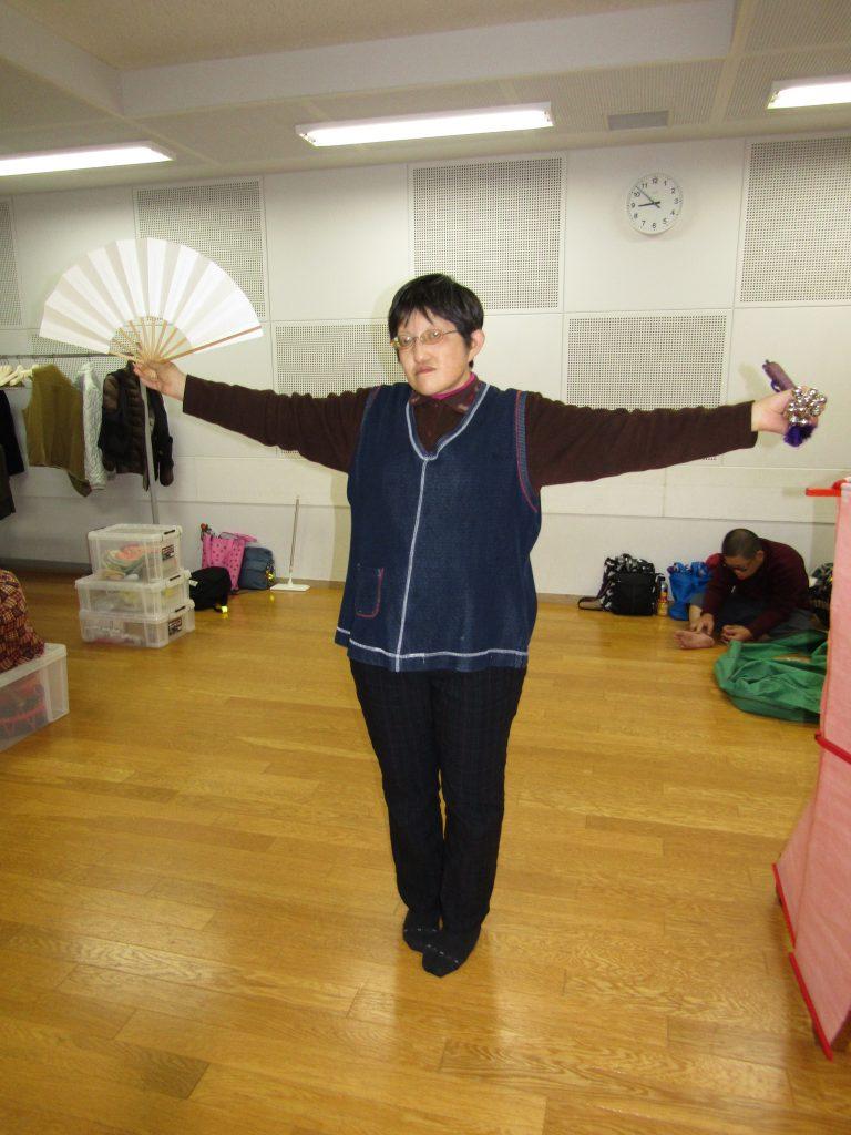 扇舞練習2