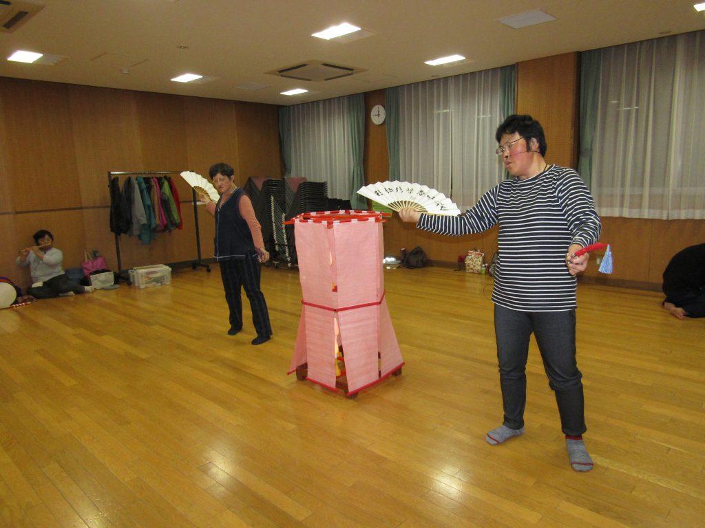 扇舞練習4