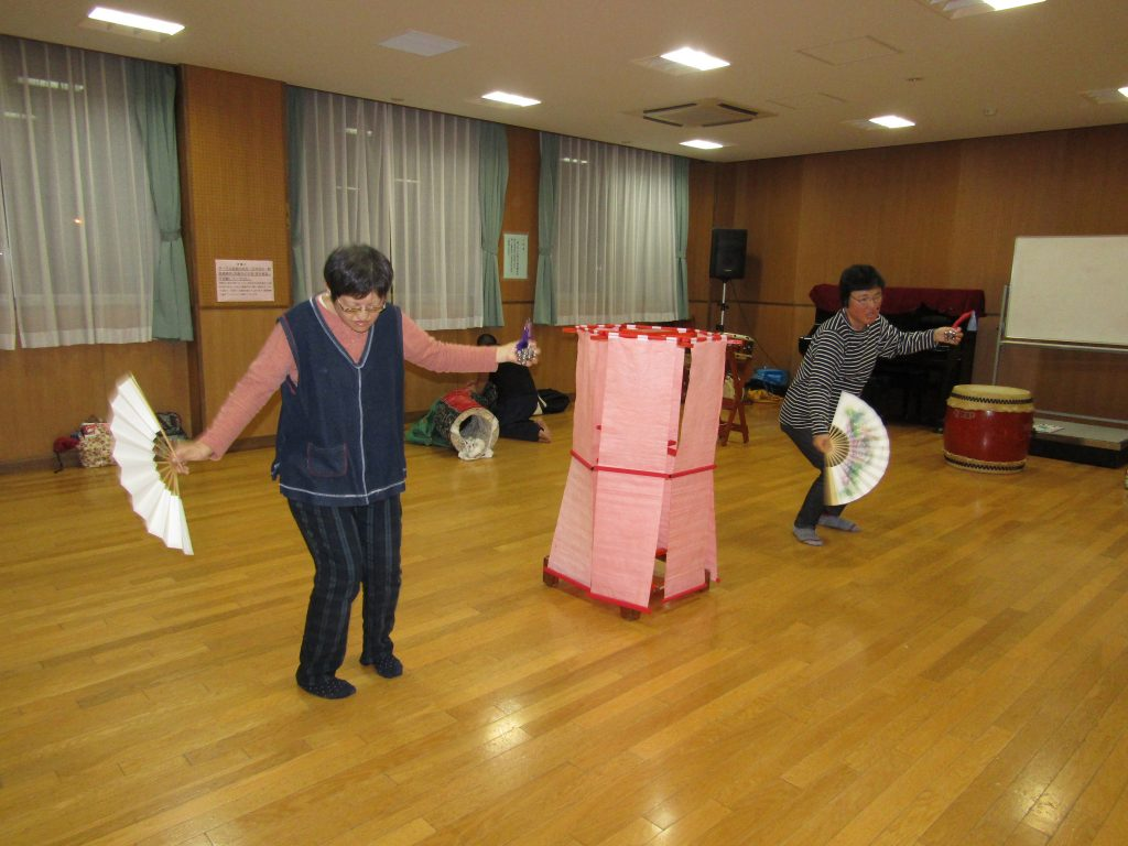扇舞練習5