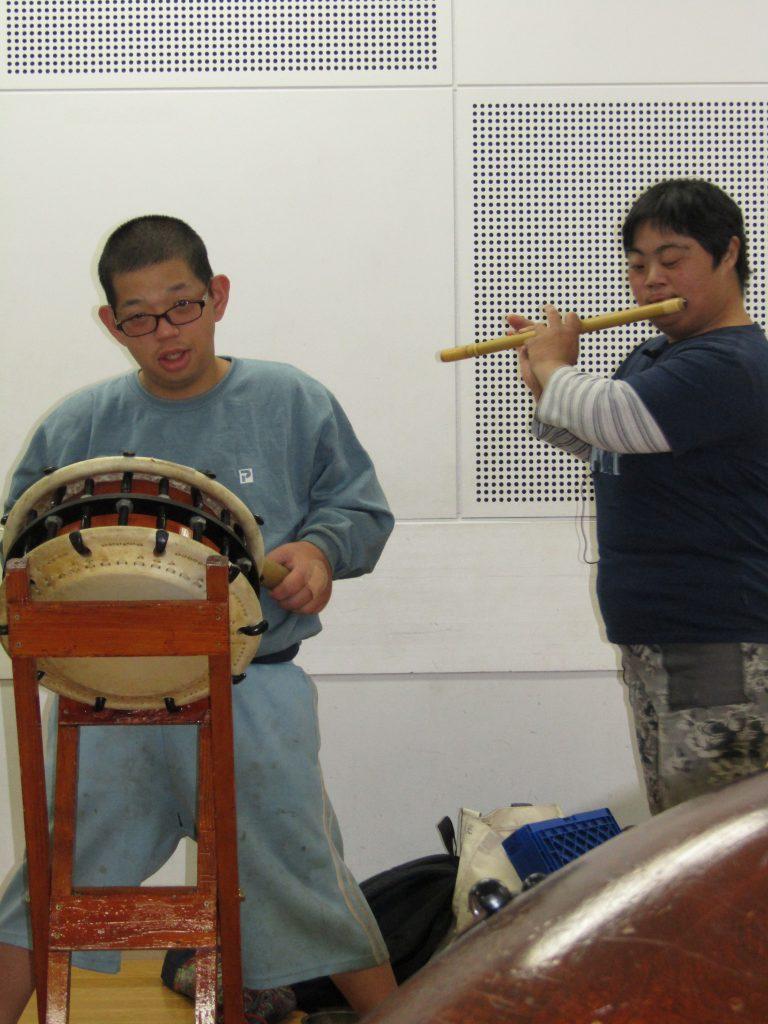 秩父屋台囃子練習2