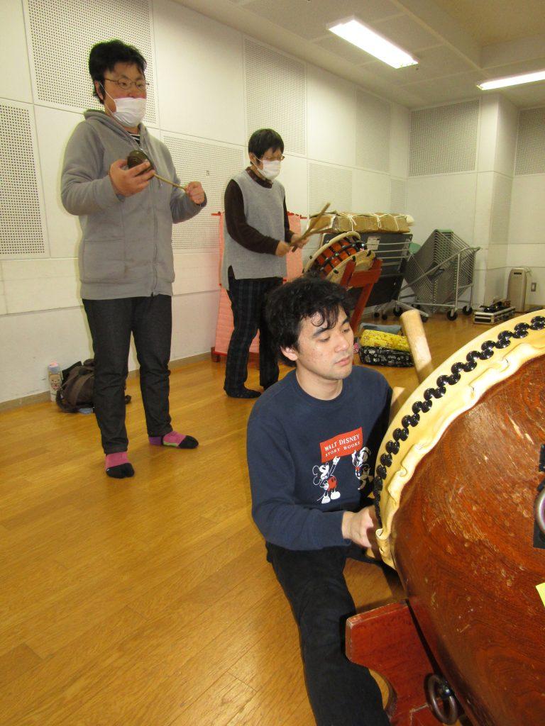 秩父屋台囃子練習3